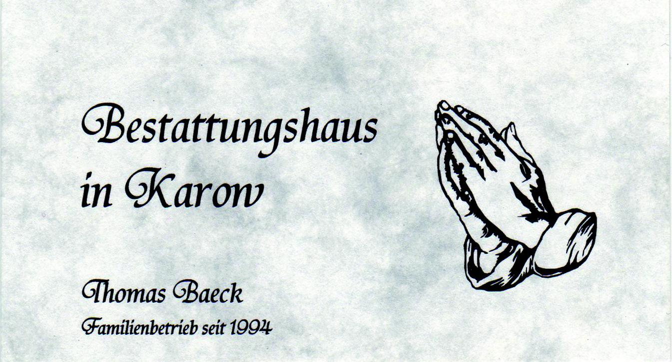 Bestattungshaus in Karow